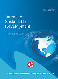 Journal of Sustainable Development