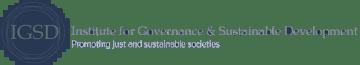Institute for Governance & Sustainable Development