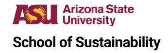 Arizona State University, School of Sustainability