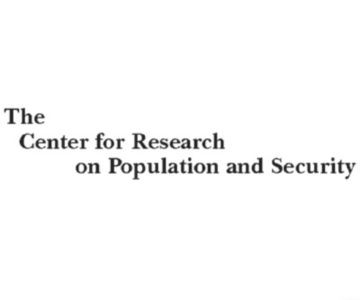 Center for Research on Population and Security